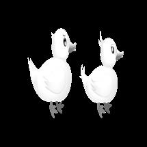 dibujos de animales patos para colorear