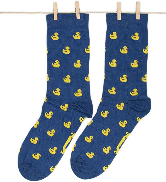 calcetines con patos