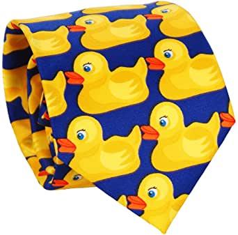 corbata con patos