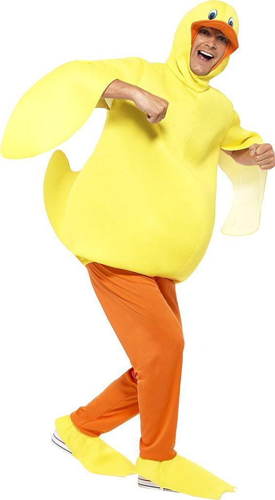 disfraz con patos