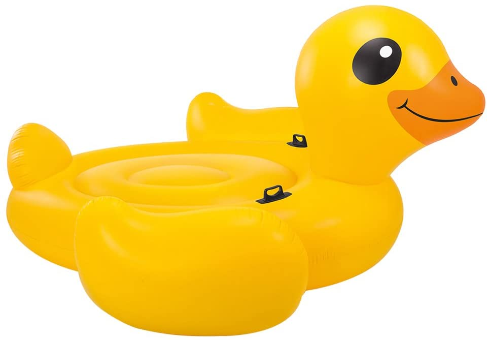 flotador con patos