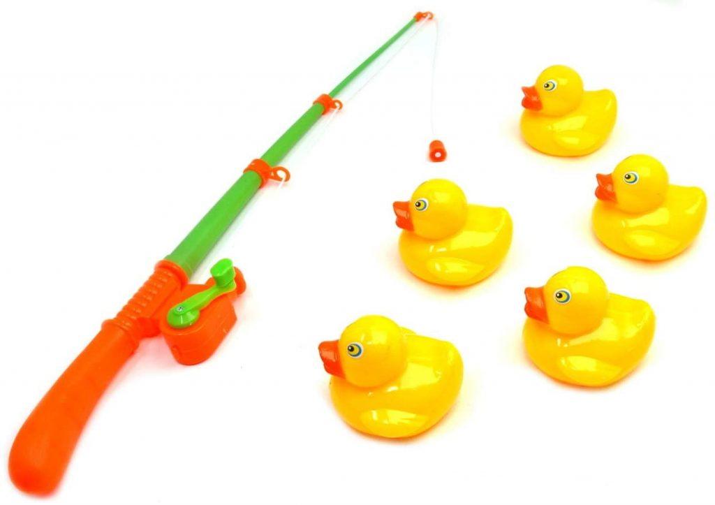 juego con patos