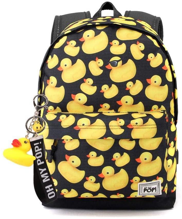 mochila con patos